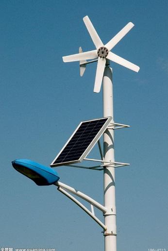 南充太阳能风能路灯