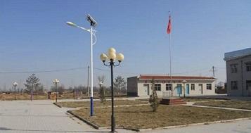 西藏拉萨合作四川太阳能庭院灯成功案例