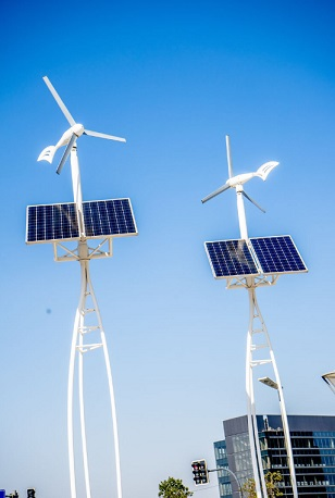 四川太阳能风能路灯