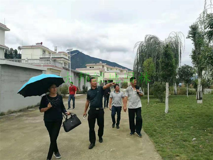 四川綠化工程考察團隊