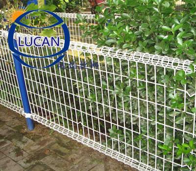 绿化防护卷圈护栏