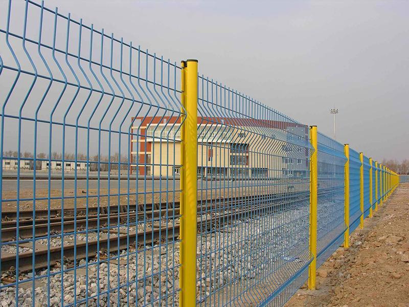 铁路护栏网图