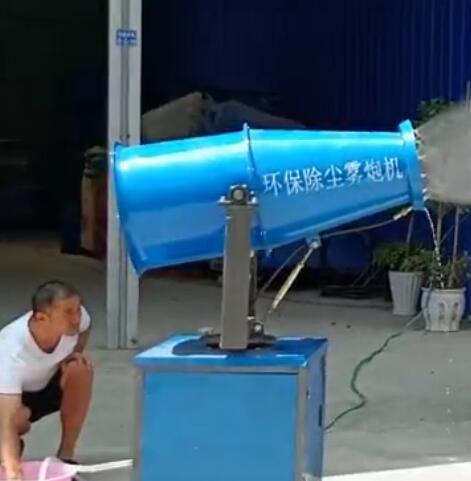 红花岗区蔚蓝环保设备经营部厂房一角