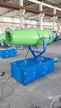 遵义蔚蓝环保设备经营部为您剖析除尘喷雾机的工作原理