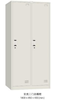 成都更衣柜-双门更衣柜