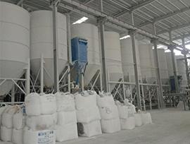 南召鑫荣华微粉钙粉厂厂房设备