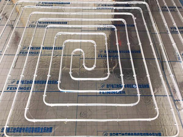 復地東湖國際七期5-濕鋪地暖系統一期工程