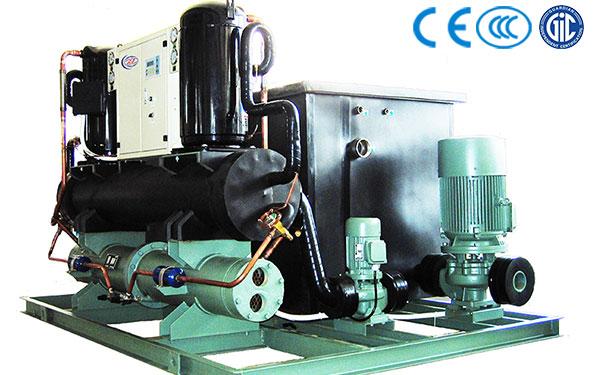 水冷开放一体化工业冷水机组