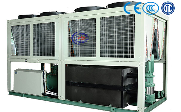 风冷螺杆工业一体式冷水机组