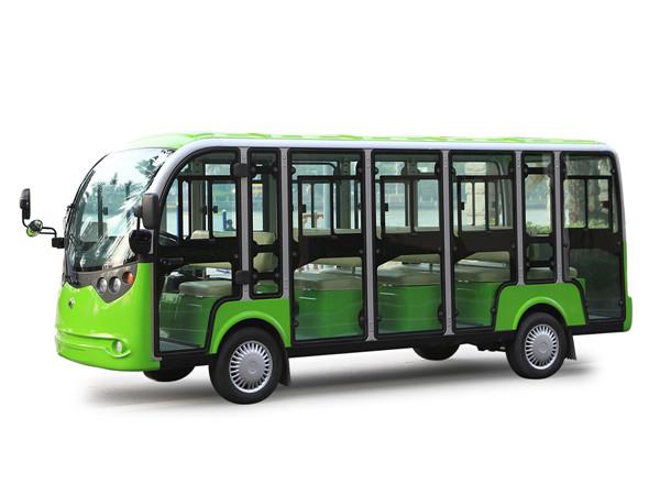 陕西电动封闭式观光车—十四人座LT-A14.F