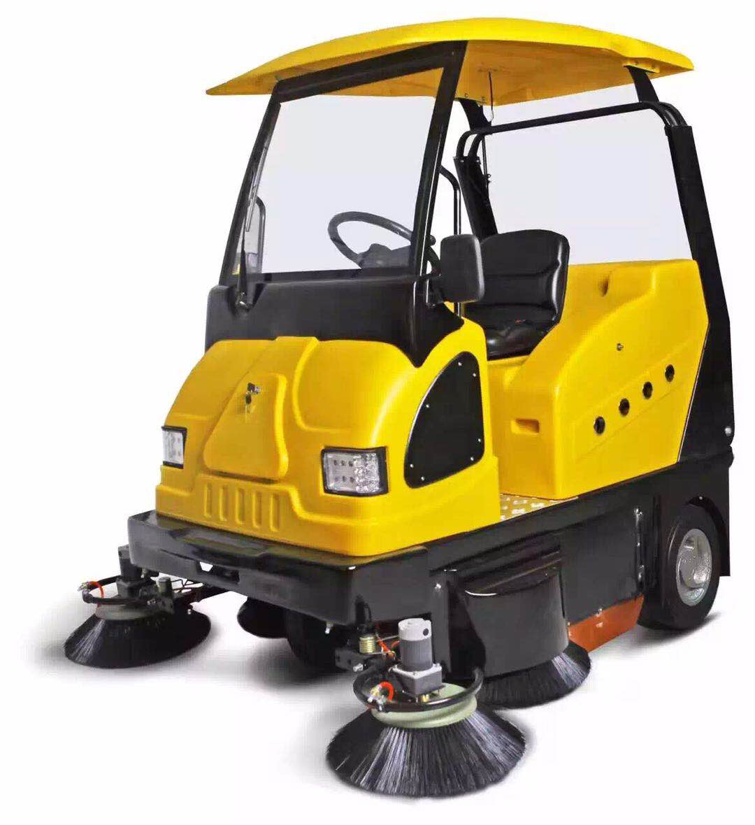 陕西电动环卫重工MN-E800W扫地车