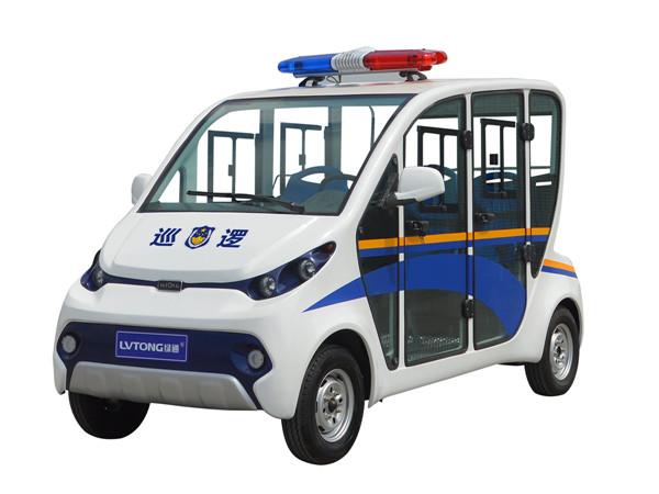 陕西电动巡逻车客户见证