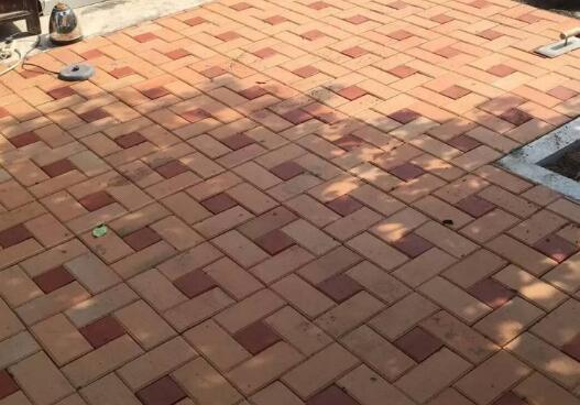 襄阳市紫贞公园面包砖案例展示