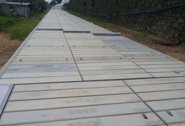 景区沟盖板安装案例展示