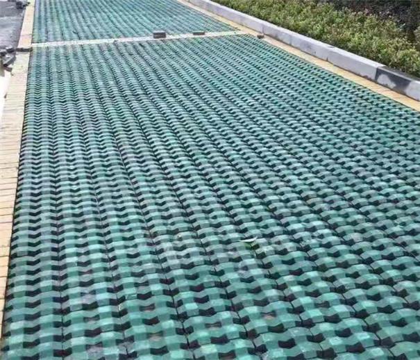 人行道路植草砖
