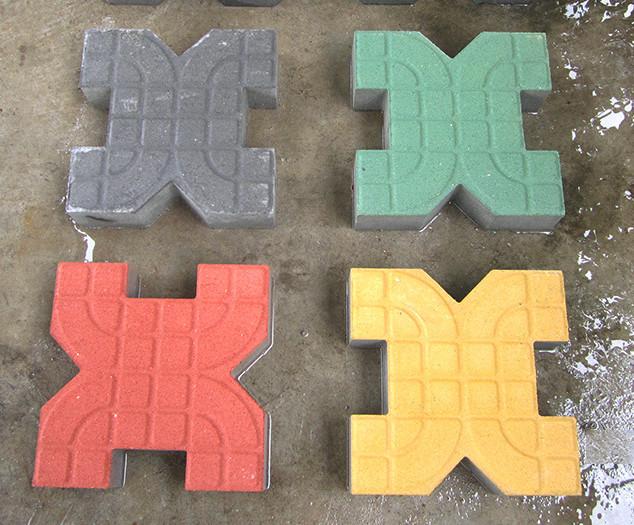 襄阳植草砖背心砖厂家 多色可选