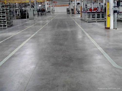 山東某廠的固化地坪案例