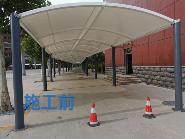 (山東華宇學院)耐磨聚氨酯地坪漆施工