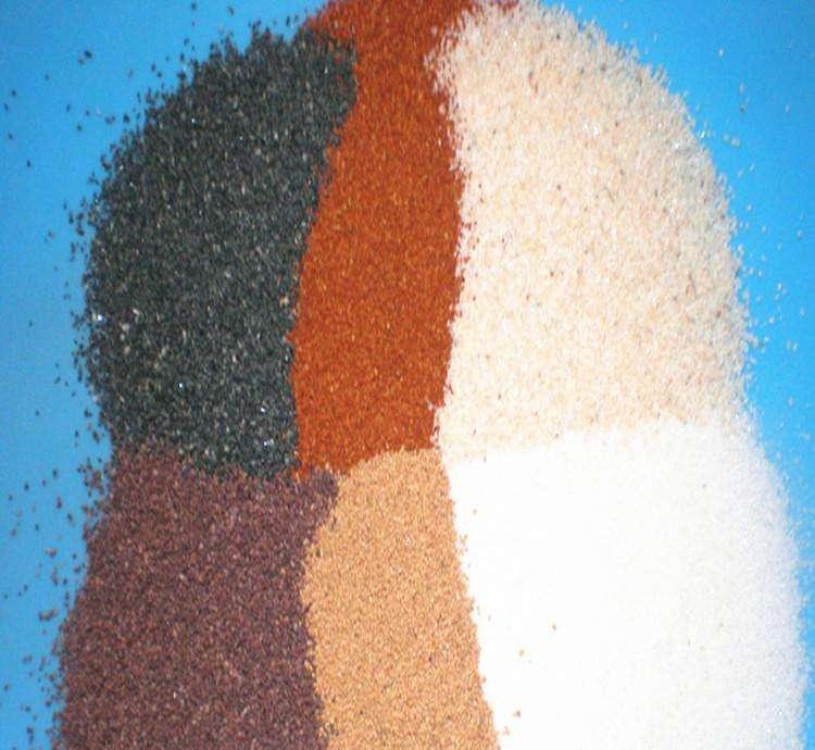 天然彩砂的用途