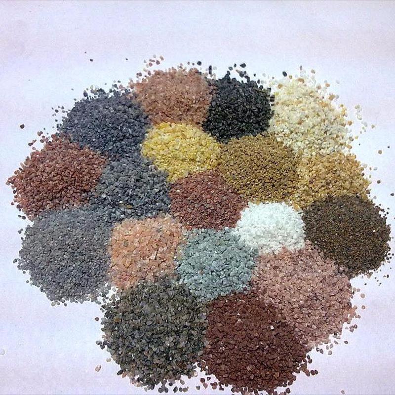 惊叹!河南岗兴实业天然彩砂用于房屋外墙竟有这么多好处!