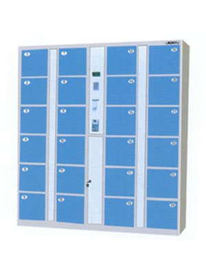 襄阳RM-076二十四门条码式寄物柜