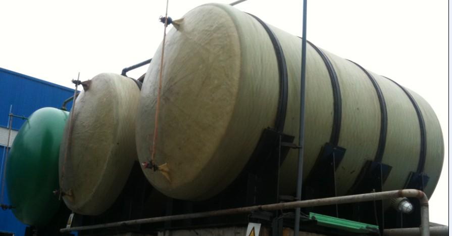 湖北华强化工集团选择玻璃钢储罐使用评价