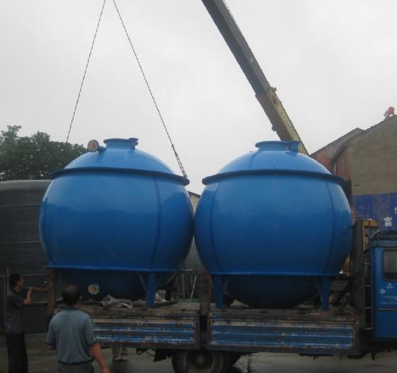 球形玻璃钢水箱