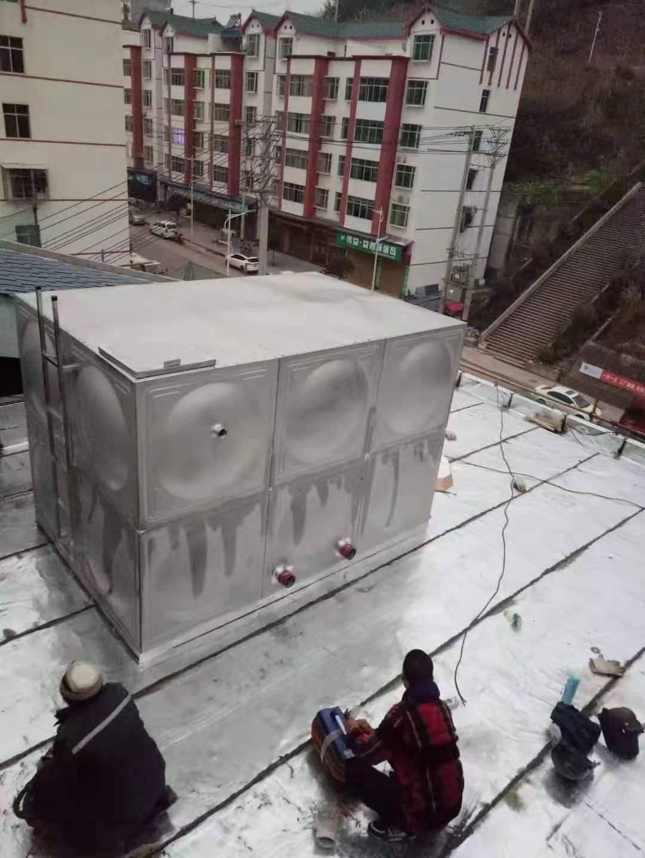 不锈钢水箱安装中