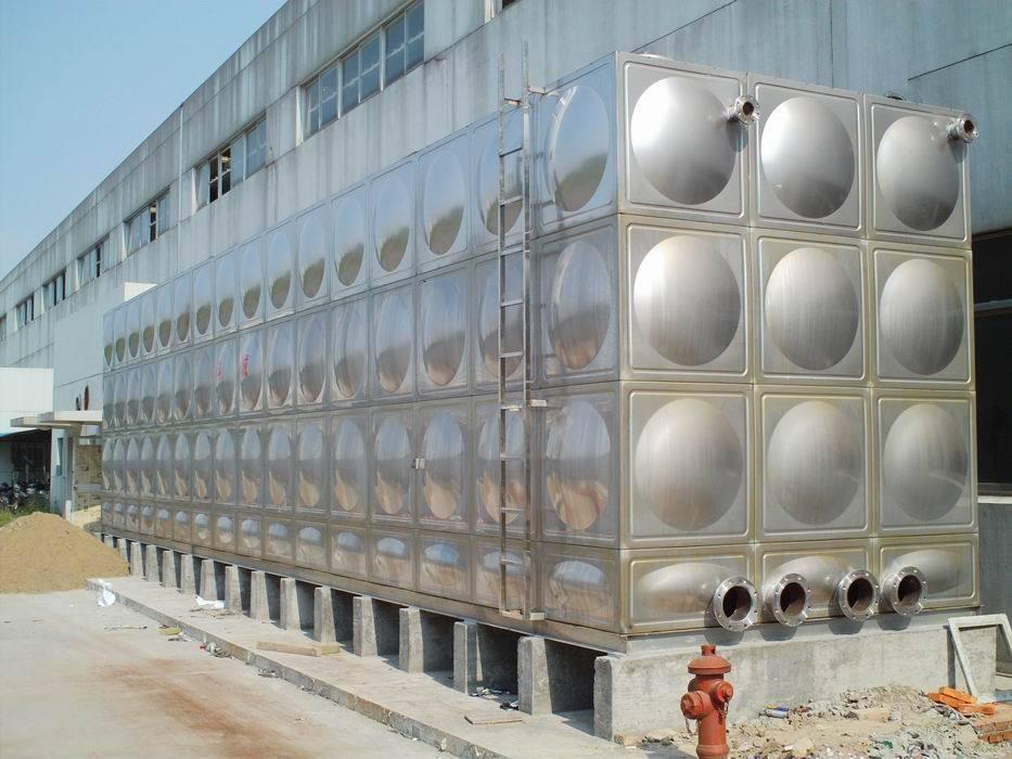 猇亭区为某工厂安装不锈钢水箱