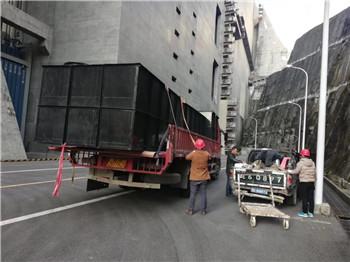 三峡大坝升船机南塔和北塔污水处理系统安装完成