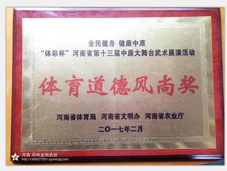 中原大舞台比赛中培训班学员荣获多个奖项