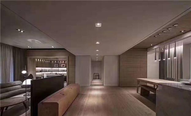 潮创装饰——黑白灰现代客厅2