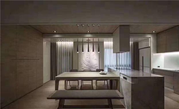潮创装饰——黑白灰现代客厅
