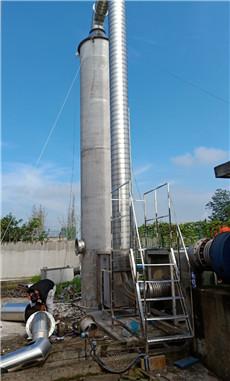 成都某制造厂工业废气处理设备