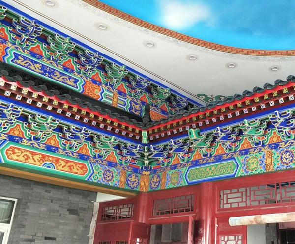 陕西古建彩绘