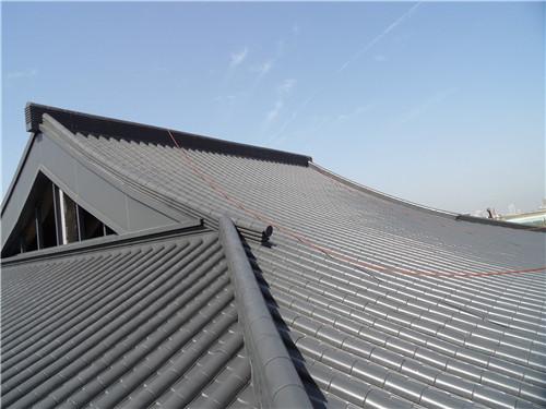陕西金属瓦在仿古建筑屋面中的应用范围以及裁制斜当勾注意事项?