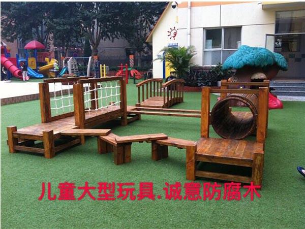 西安防腐木制大型玩具