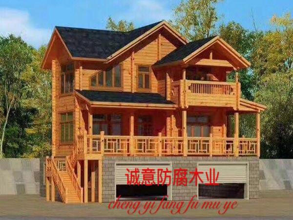 西安木别墅安装