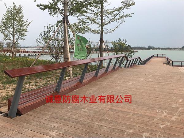 西安防腐木栈道