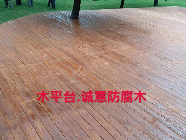 西安木结构栈道栏杆合作客户雅居乐地产