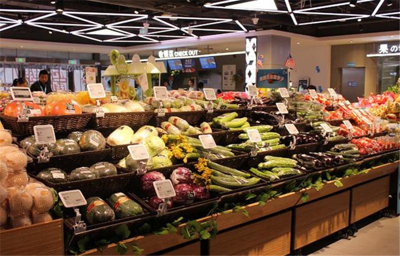 大型水果连锁超市
