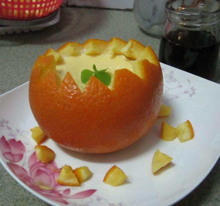 对于喜欢吃脐橙的朋友来说,橙汁蒸蛋是一道不可错过的美食
