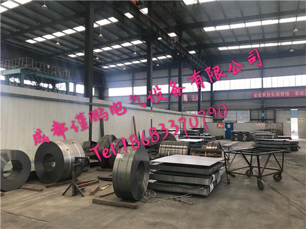 四川电缆桥架厂房——原材料区域