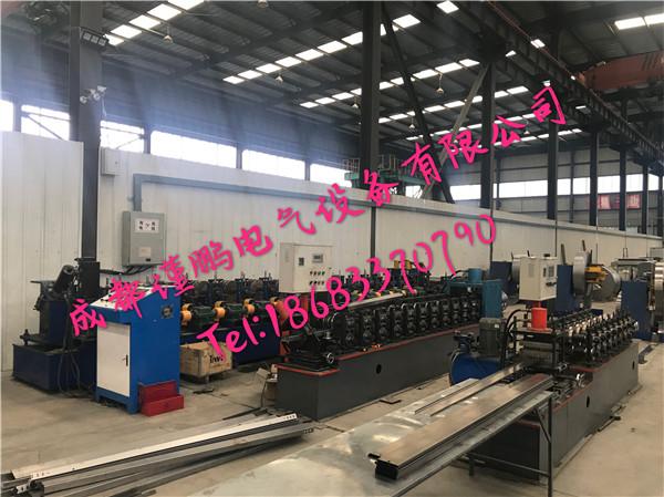 四川电缆桥架厂房成型区