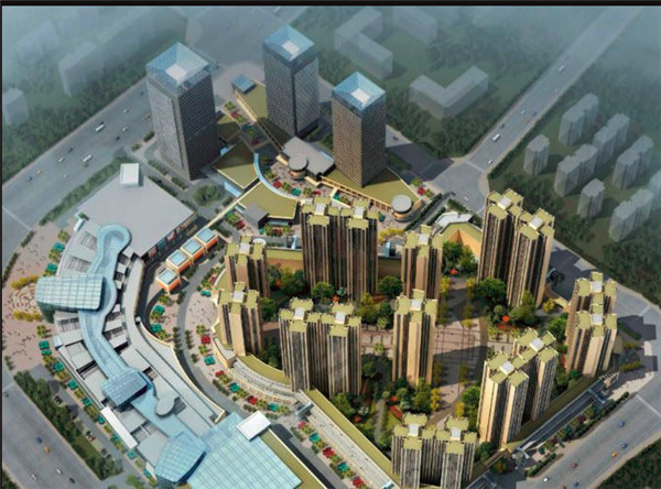 四川电缆桥架——乐山世豪广场工程案例展示