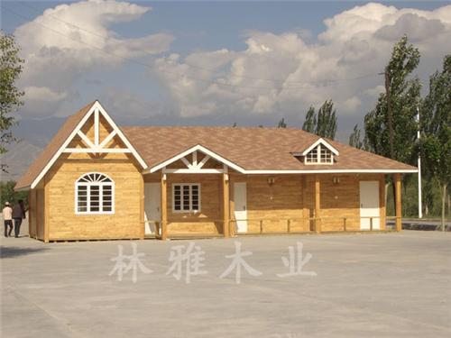 河南防腐木木屋安装