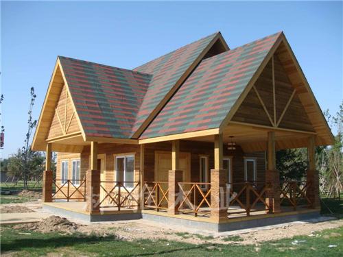 郑州防腐木木屋