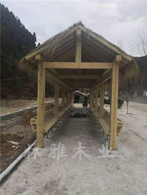 新鄉防腐木長廊工程