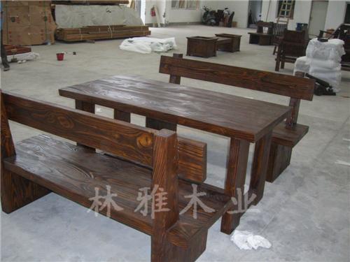 河南防腐木户外桌椅厂家