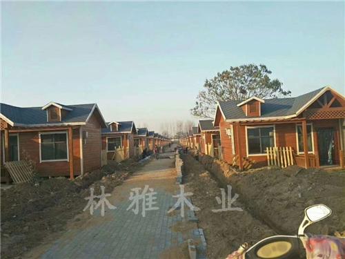 鄭州防腐木木屋